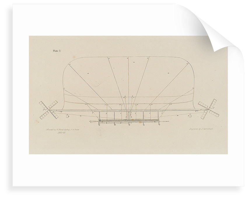 Side view of Atmotic ship by W. Bland