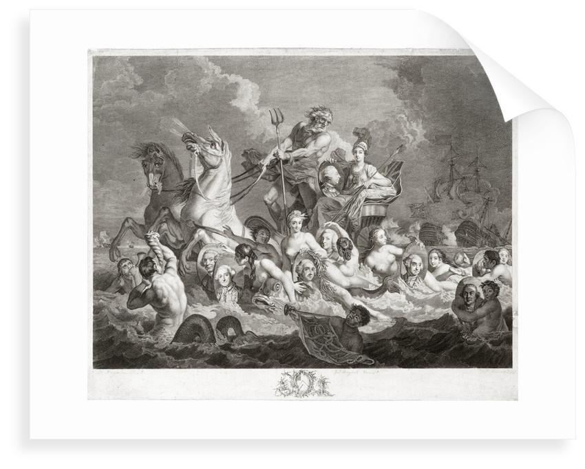 Triumph of Britannia by Francis Hayman