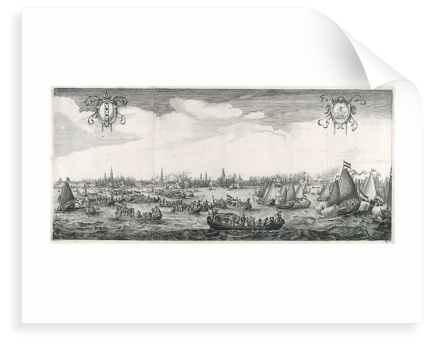 Royal visit to Amsterdam by Simon de Vlieger