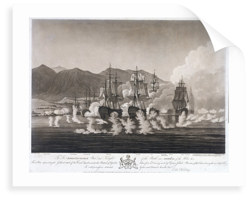 The Battle of Algeciras by Jaheel Brenton