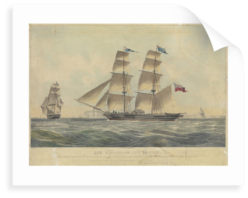 The brig 'Camden' by Dean & Law