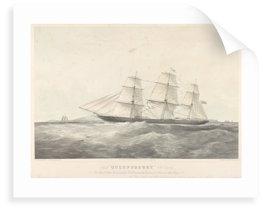 Ship 'Queensberry' (1856) by Samuel Walters