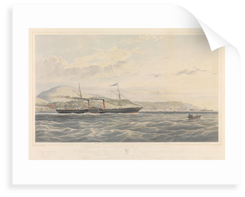 Clipper steamer 'Manx Fairy of Ramsey', Isle of Man by Samuel Walters