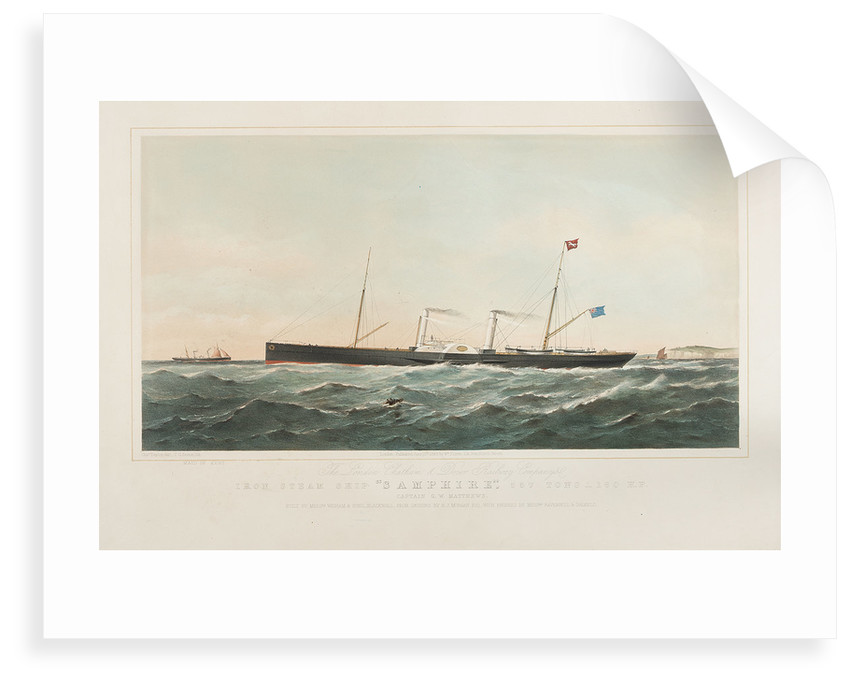 The SS 'Samphire' and 'Maid of Kent' by Thomas Goldsworth Dutton