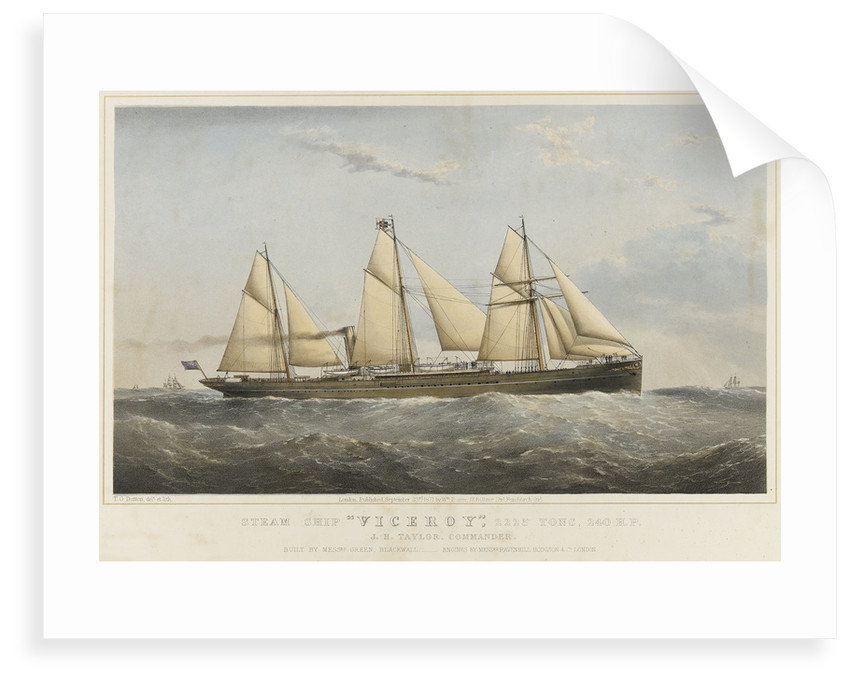 Steam ship 'Viceroy by Thomas Goldsworth Dutton