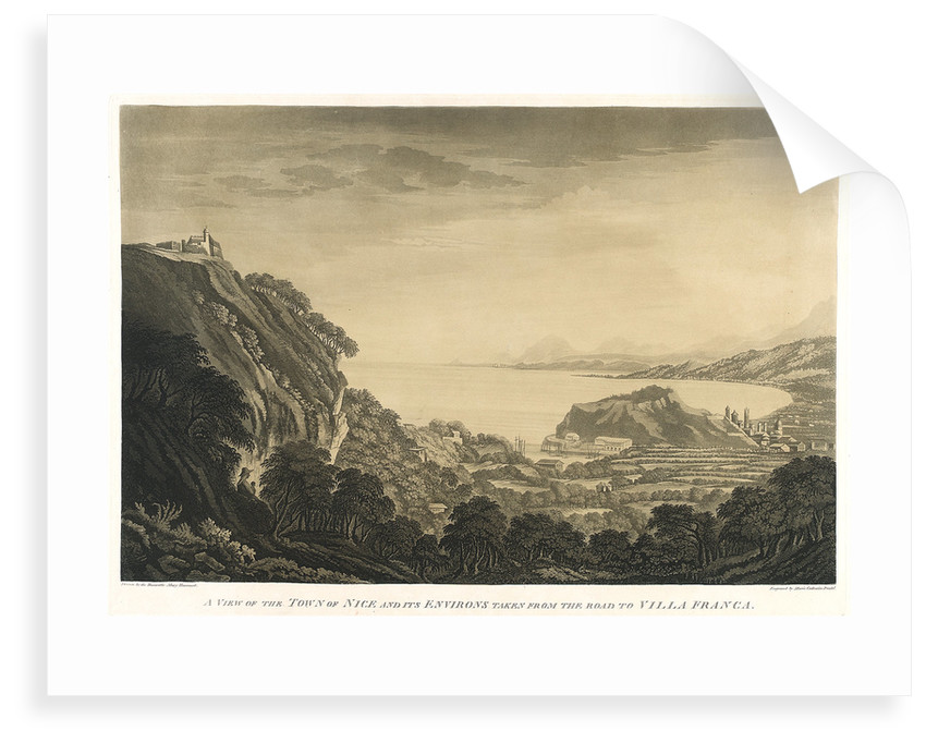A view of Nice and its surroundings by Mary Harcourt