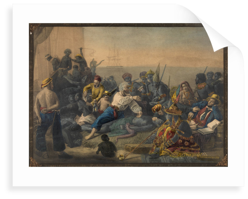 Slave trade by Francois-Auguste Biard