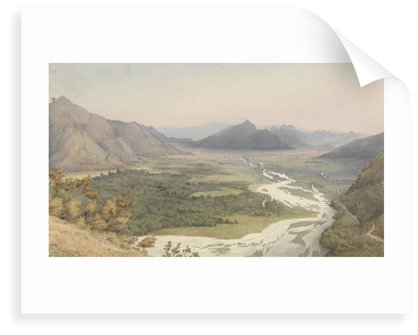 Between San Felipe de Aconcagua and Quillota, Chile, Jany 16th 1851 by Edward Gennys Fanshawe