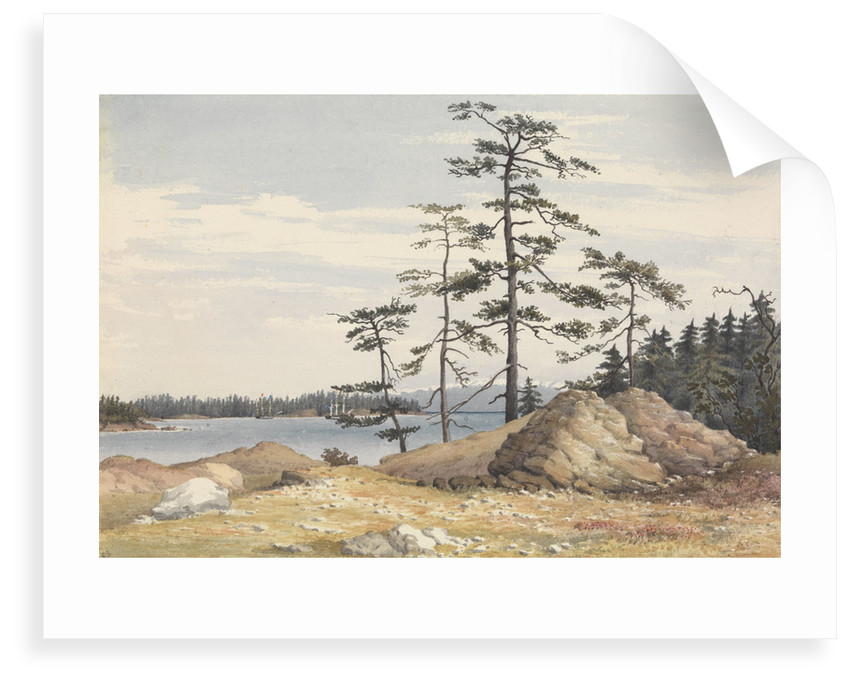 Esquimalt Harbour, Vancouver's Island, June 28th 1851 [Canada] by Edward Gennys Fanshawe
