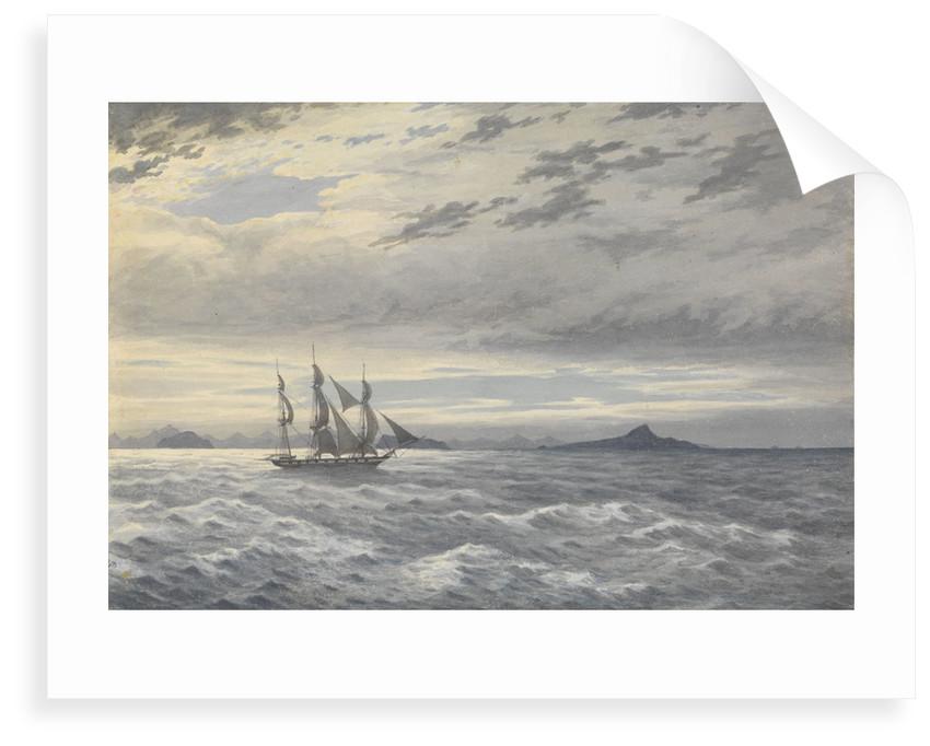 HMS 'Daphne' off Cape Horn, 28 May 1852 by Edward Gennys Fanshawe