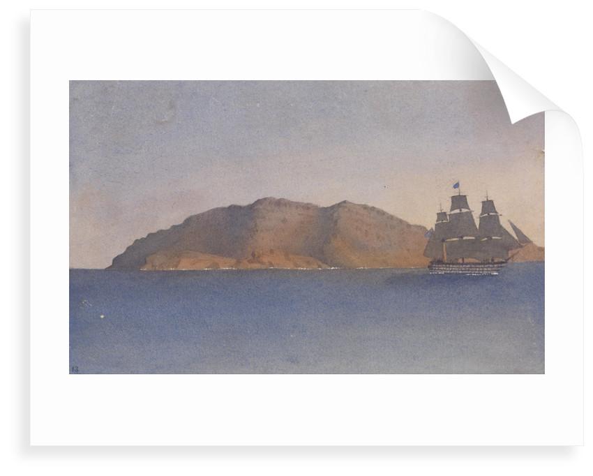 Cape Bon, June 6th 1857 [Tunisia] by Edward Gennys Fanshawe