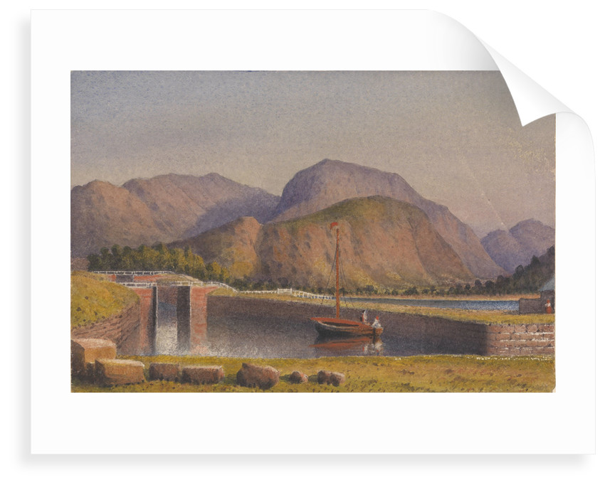 Ben Nevis, from the end of the Caledonian Canal, 1843 [Scotland] by Edward Gennys Fanshawe