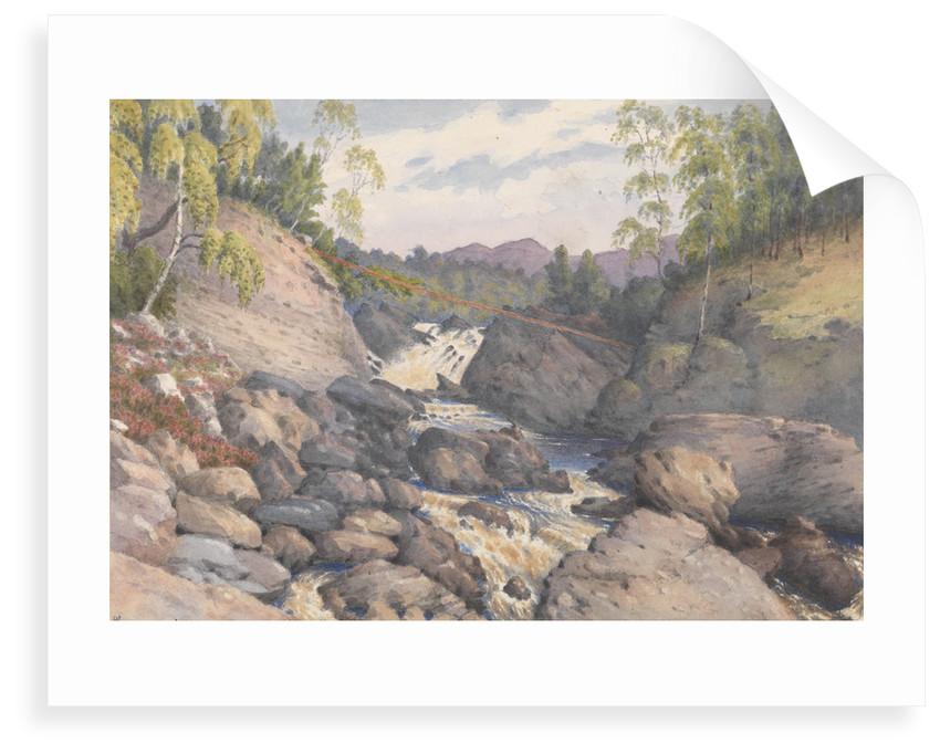 Rogie Falls, Rosshire, August 1883 [Scotland] by Edward Gennys Fanshawe