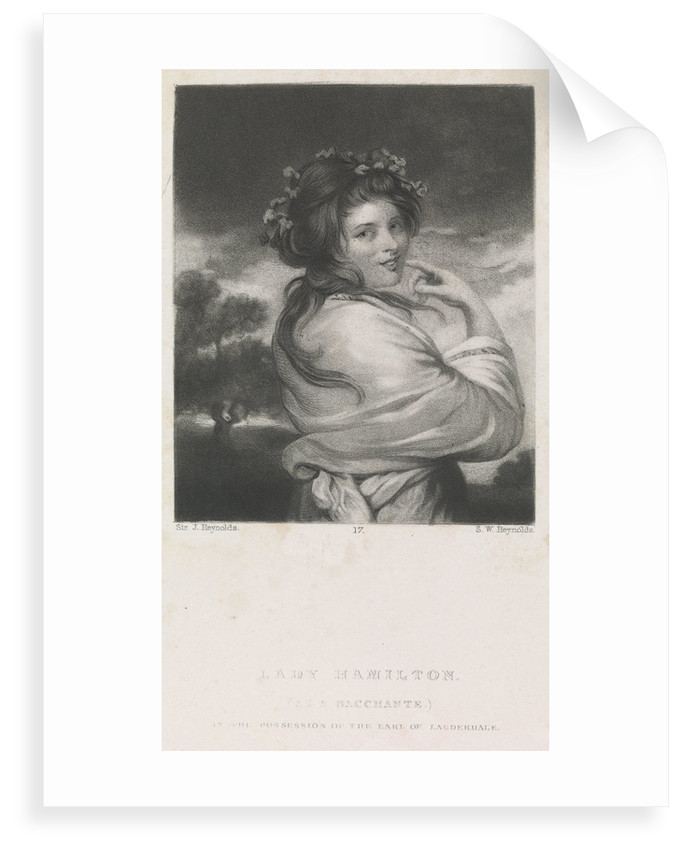 Lady Emma Hamilton (as a Bacchante) by Joshua Reynolds