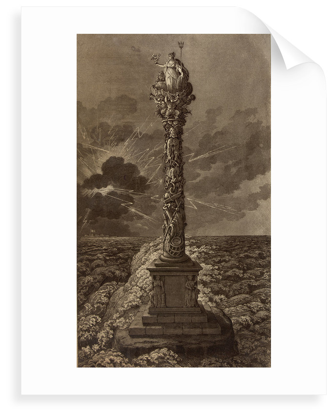 Design for a naval column by James Gillray