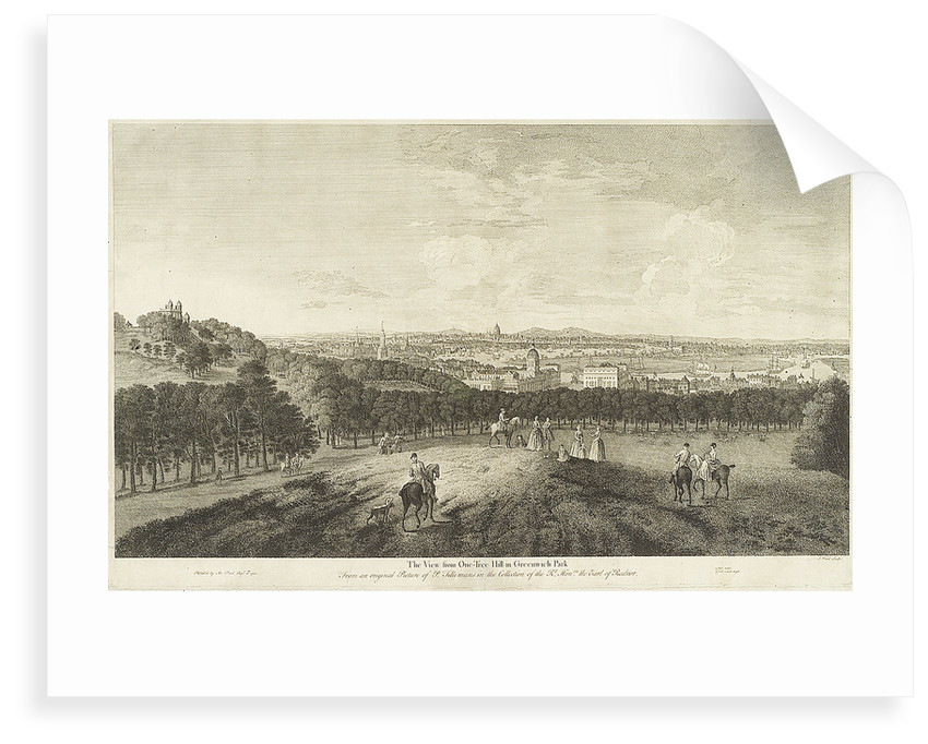 The View from One-Tree Hill in Greenwich Park by Arthur Pond