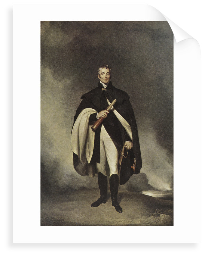 The Duke of Wellington K. G. by W. Robinson