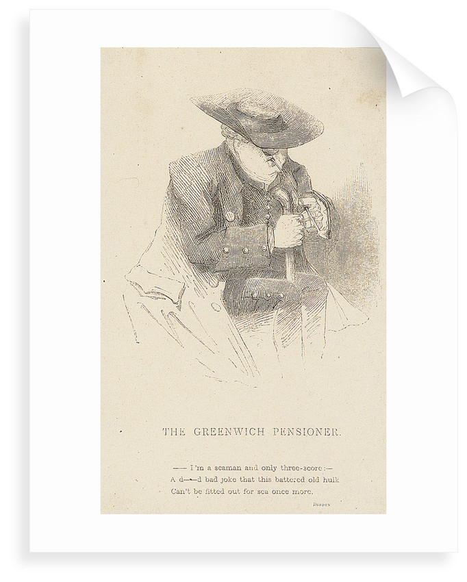 The Greenwich Pensioner by unknown