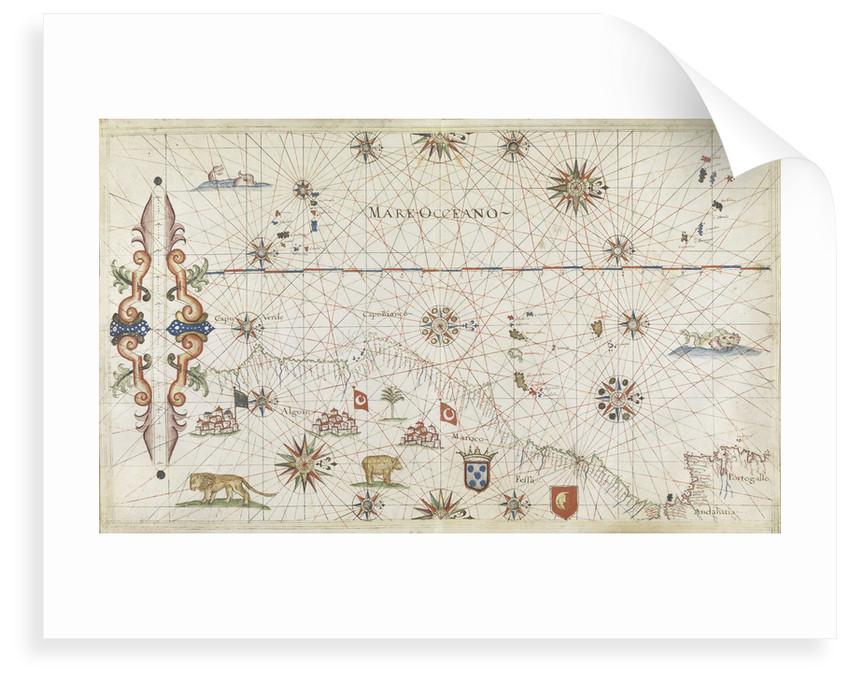 NE Atlantic, Lisbon to Cape Verde by Joannes Oliva