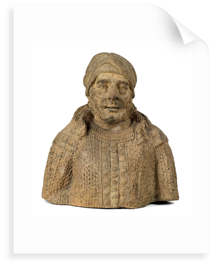 Bust of a 'Barbary pirate' by unknown