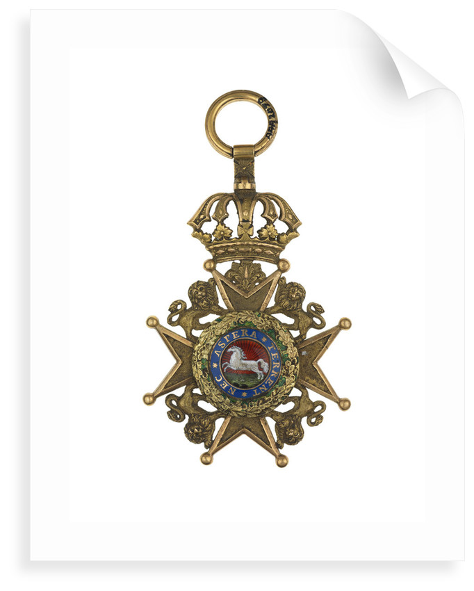 Badge: Royal Hanovarian Guelphic Order, 2nd class by unknown