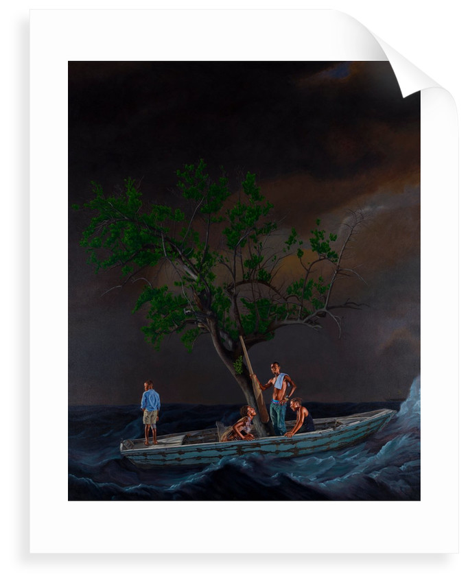 Ship of Fools by Kehinde Wiley
