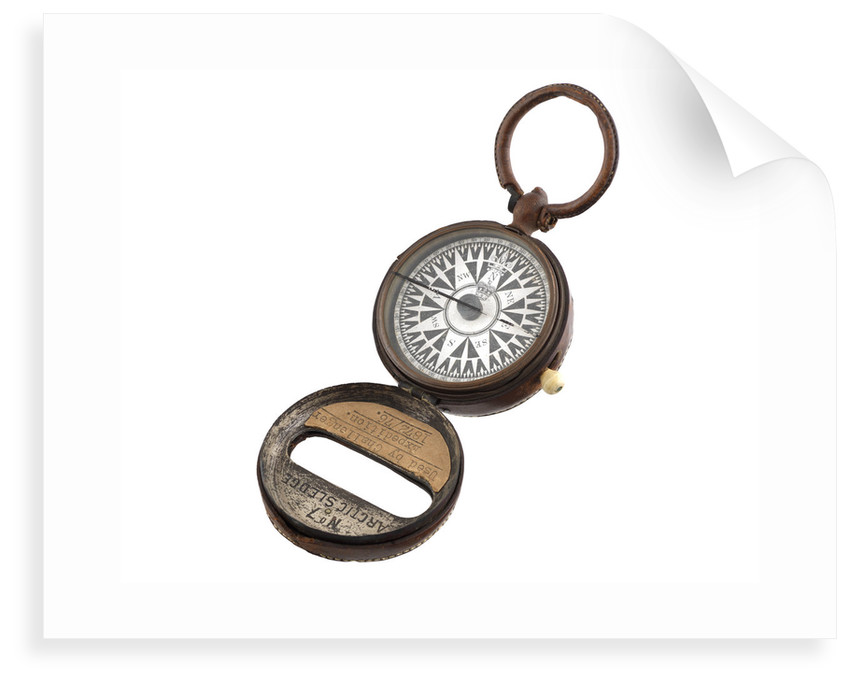 Dry card compass by Henry Barrow & Co