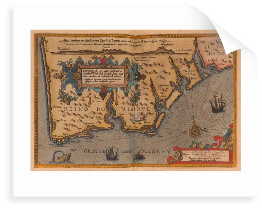 Speculum nauticum super navigatione maris occidentalis confectu, continens omnes oras maritimas Galliae, Hispaniae, and praecipuarum partium Angliae by Lucas Janz Waghenaer