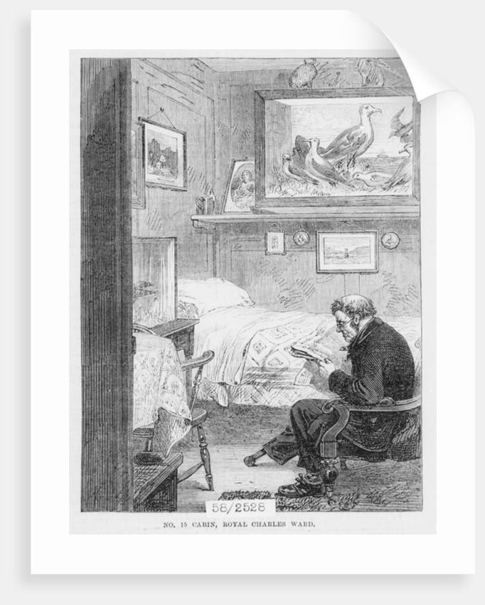 No. 15 cabin, Royal Charles Ward, Greenwich Hospital by unknown