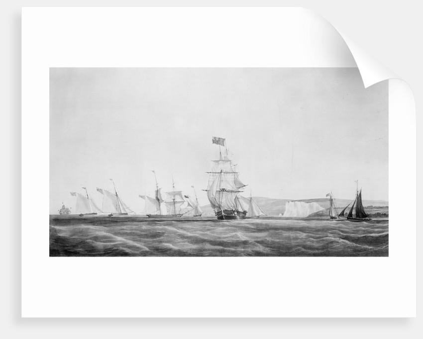 HMS 'Vestal' by John Christian Schetky