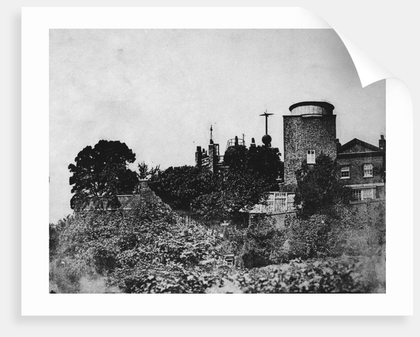 The Royal Observatory in 1869 by unknown