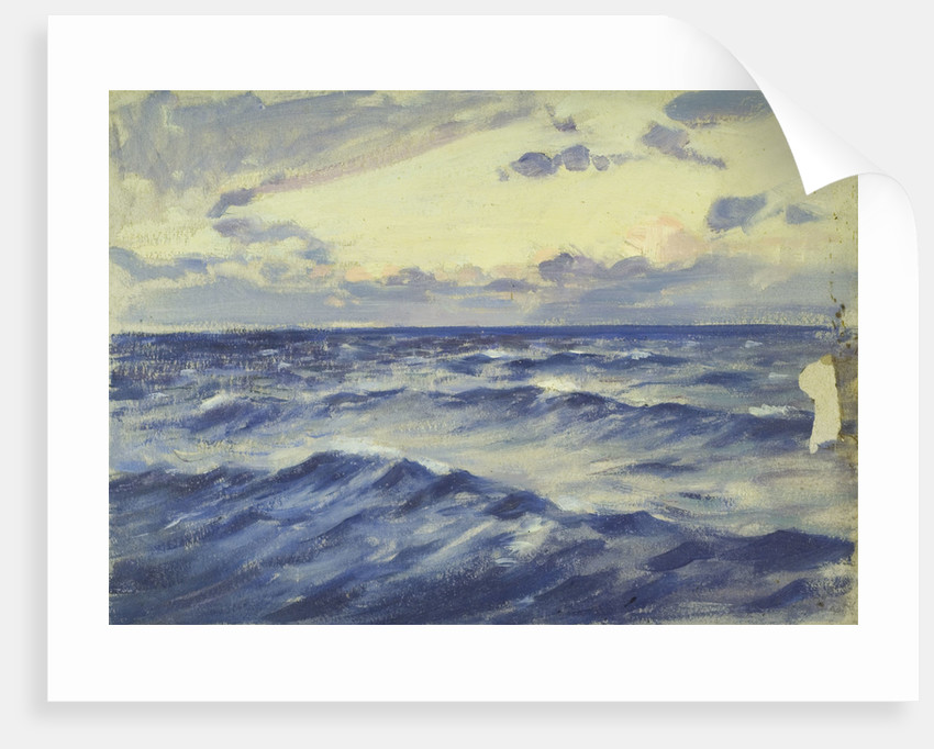 Seascape from the 'Birkdale' by Herbert Barnard John Everett