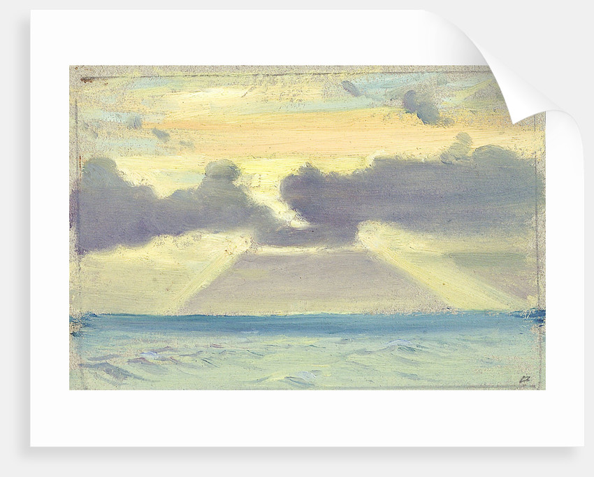Seascape by Herbert Barnard John Everett
