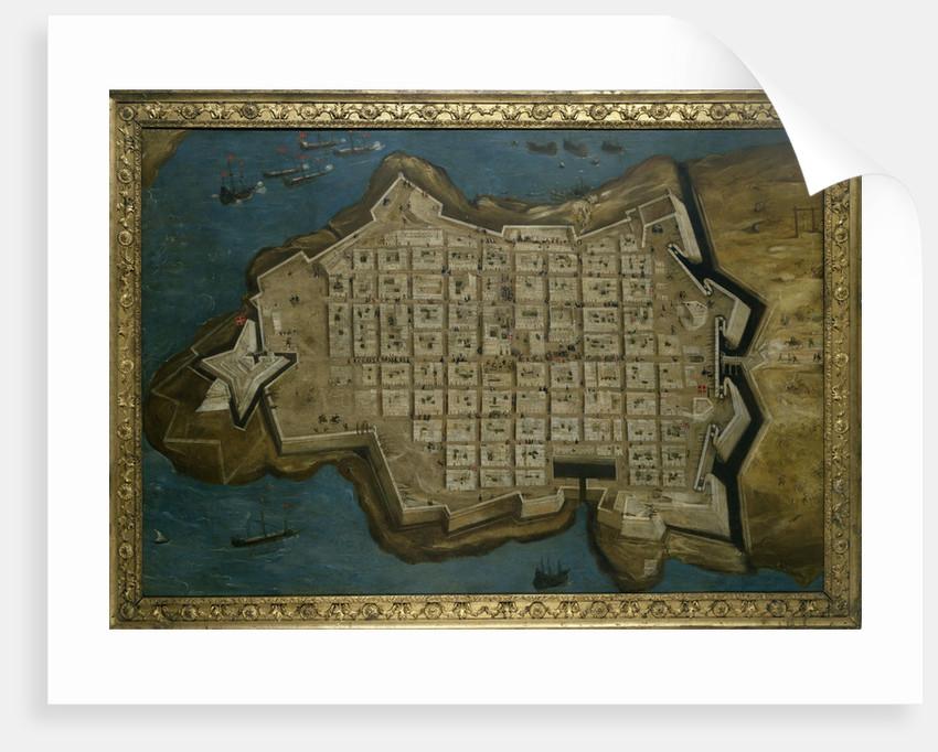 The Siege of Malta: Valetta, 13 September 1565 by Matteo Perez d'Aleccio