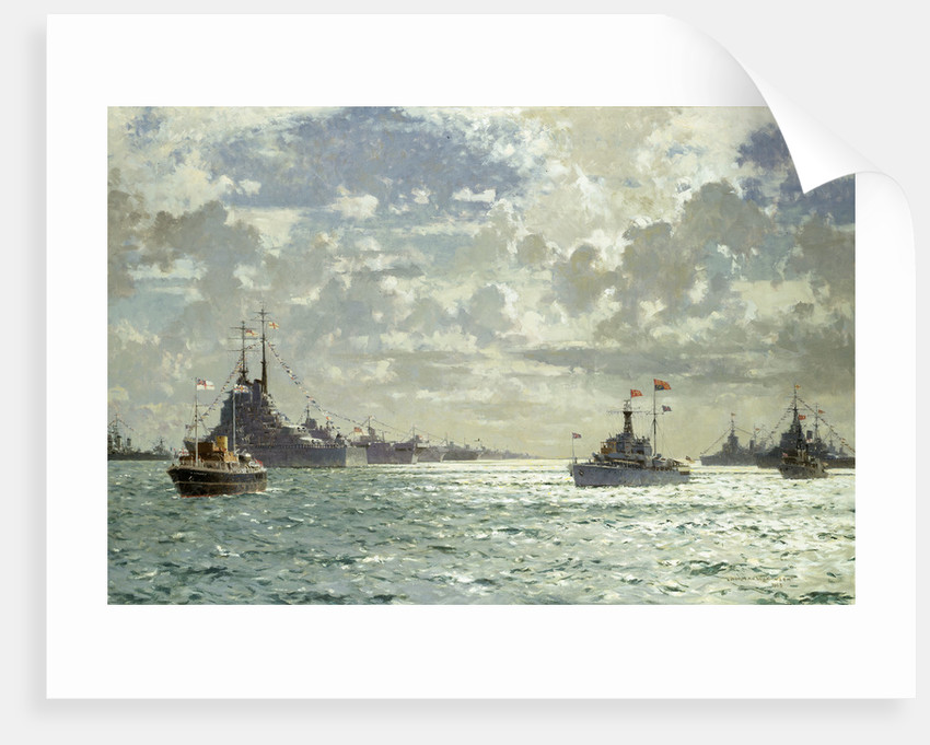 Coronation review, 15 June 1953 by Norman Wilkinson