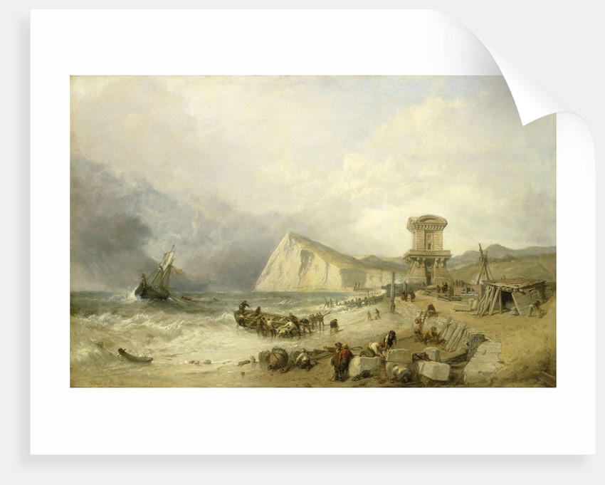 Shakespeare Cliff, Dover, 1849 by Clarkson Stanfield