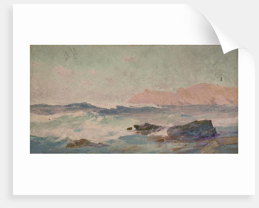 A costal scene by John Fraser