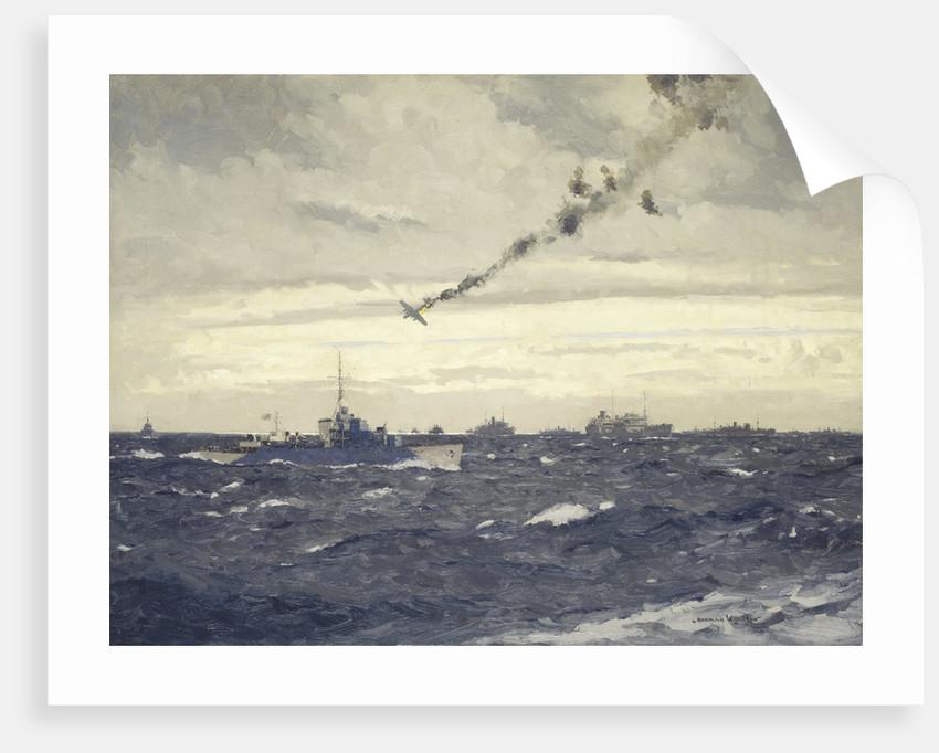 End of a Focke-Wulf by Norman Wilkinson
