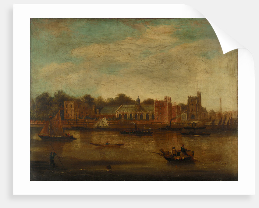 Lambeth Palace, London by unknown