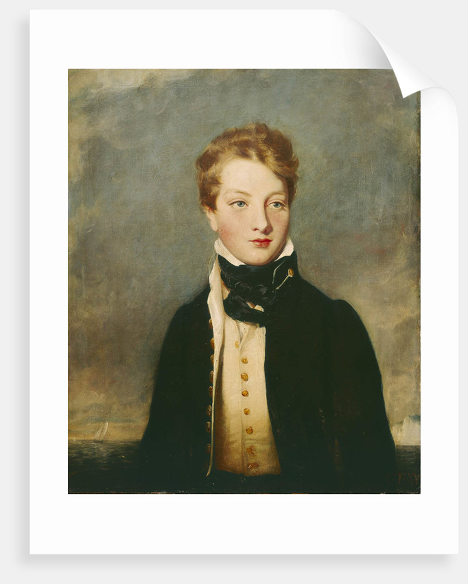 Rear-Admiral Louis Tindal as a boy (circa 1810-1876) by British School