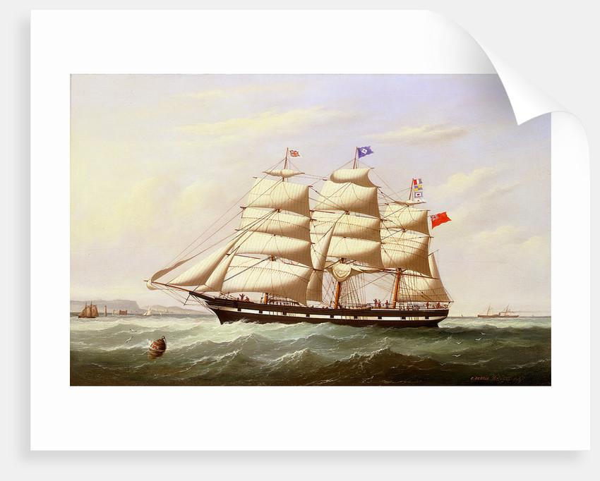 The barque 'William Yeo' by Joseph Semple