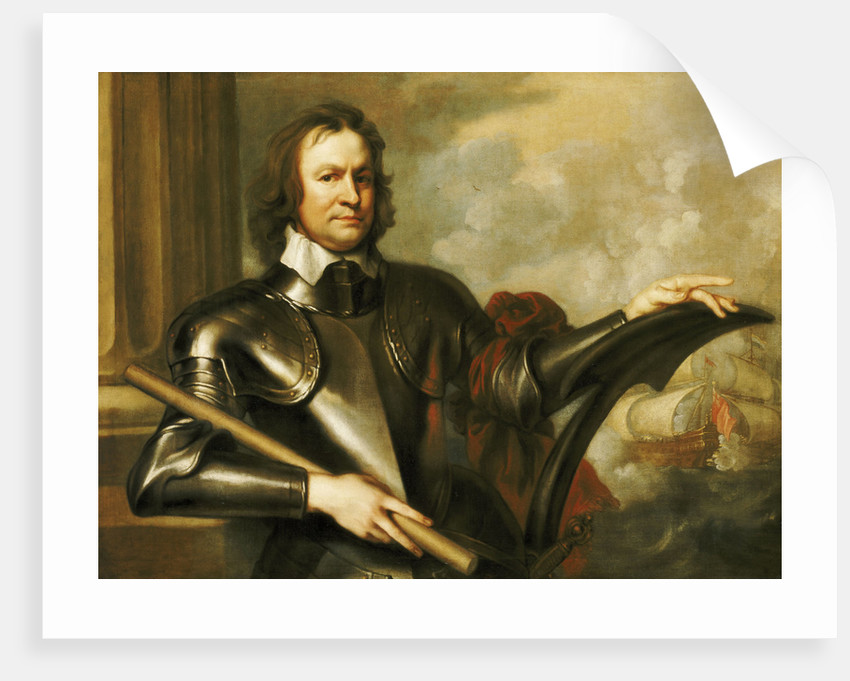 Richard Deane, General at Sea (1610-1653) by Robert Walker