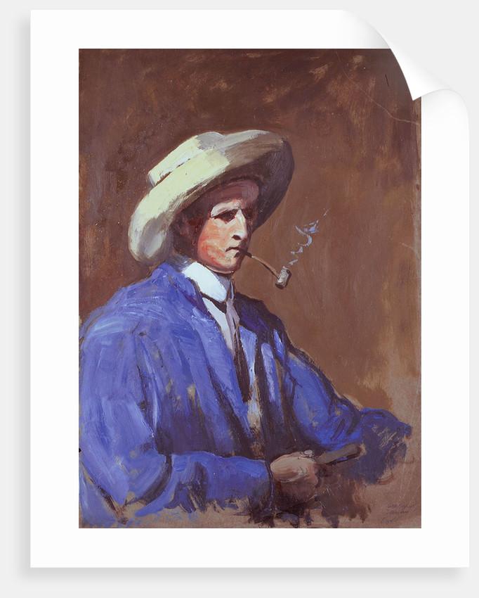 Herbert Barnard John Everett (self-portrait) by Herbert Barnard John Everett