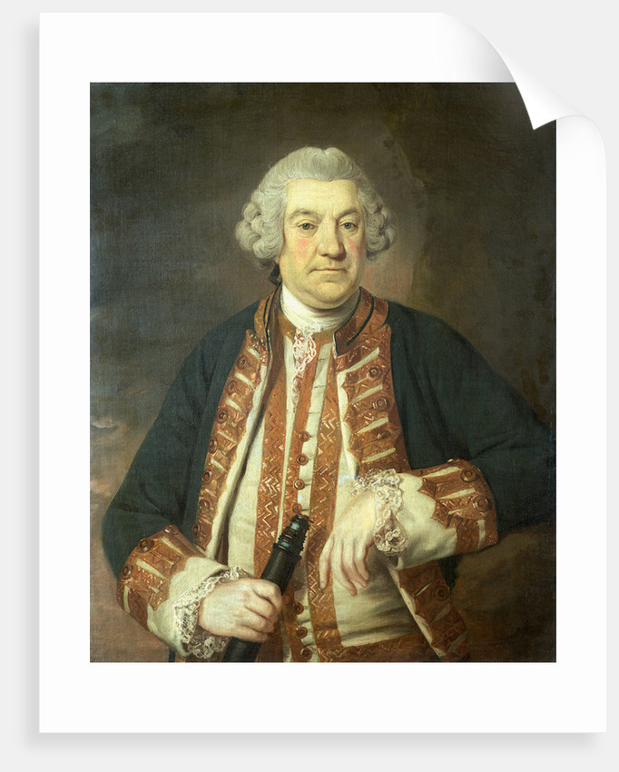 Admiral Sir Francis Geary (1709/10-1796) by British School