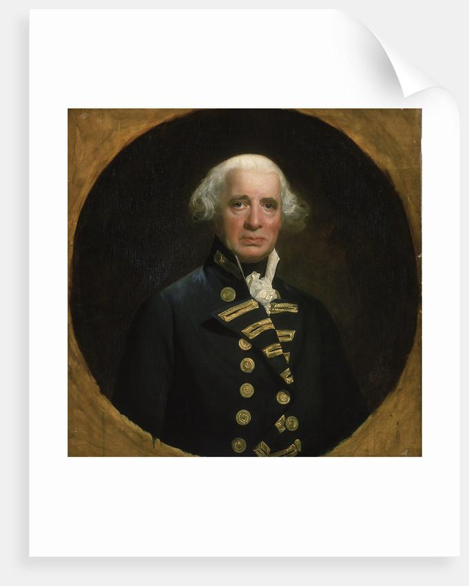Admiral of the Fleet Richard Howe, 1st Earl Howe (1726-1799) by John Singleton Copley