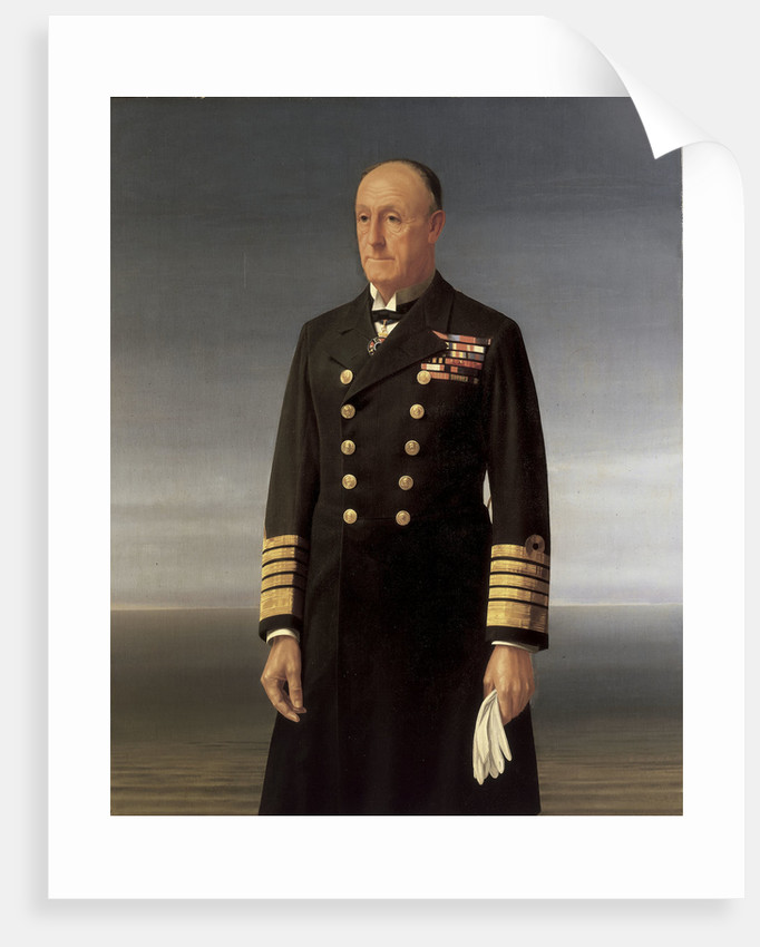 Admiral of the Fleet John Jellicoe, 1st Earl Jellicoe (1859-1935) by Walter Thomas Monnington