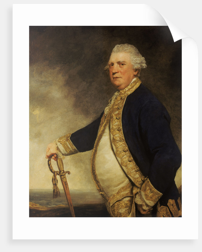 Admiral Augustus Keppel (1725-1786) by Joshua Reynolds