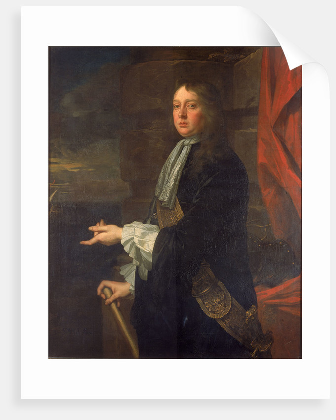 Flagmen of Lowestoft: Admiral Sir William Penn (1621-1670) by Peter Lely