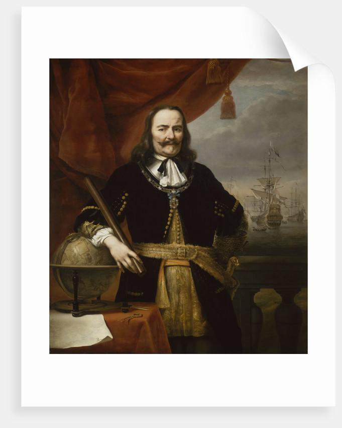Michiel Adriaenszoon de Ruyter, Lieutenant-Admiral-General of the United Provinces (1607-1676) by Ferdinand Bol