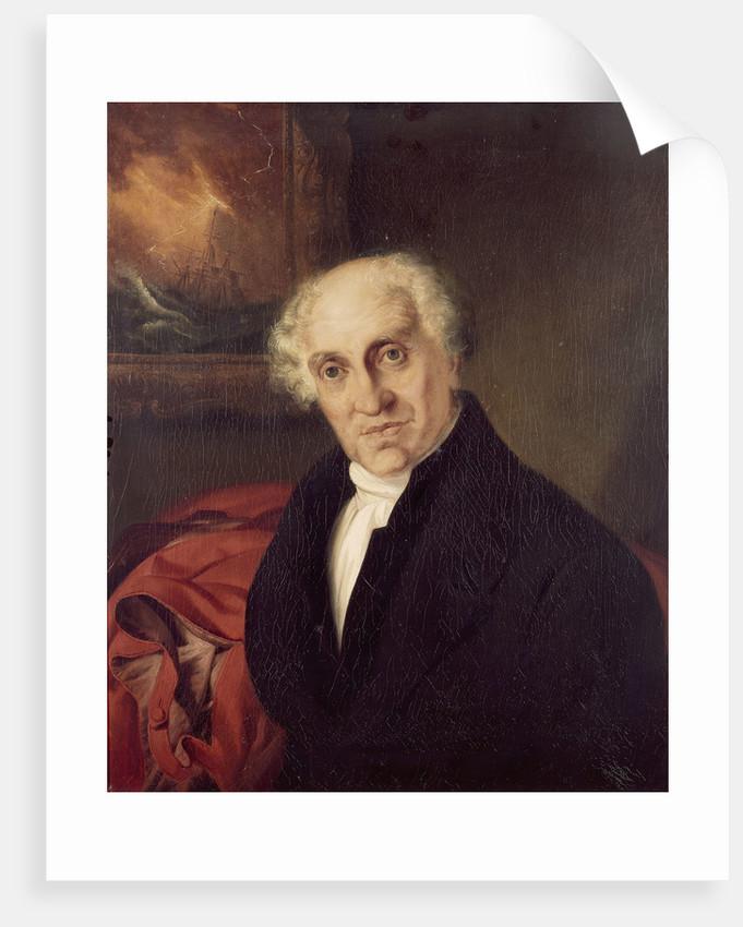 The Reverend Doctor Alexander Scott (1768-1840) by Siegfried Detlen Bendixen